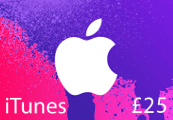 iTunes £25 UK Card