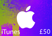 iTunes £50 UK Card