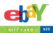 eBay $25 Gift Card US