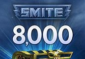 SMITE 8000 Gems CD Key