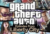 Grand Theft Auto: Episodes from Liberty City RU VPN Activated Clé Steam
