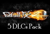 Pinball FX2 - 5 DLCs Pack Steam CD Key