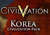 Sid Meier's Civilization V - Korean Civilization Pack DLC Steam CD Key