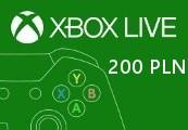 XBOX Live 200PLN Prepaid Card PL