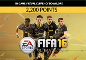 FIFA 16 - 2200 FUT Points XBOX One CD Key