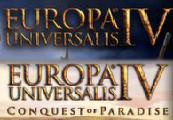 Europa Universalis IV + Conquest of Paradise Expansion Steam CD Key