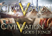 Sid Meier's Civilization V + Gods and Kings Expansion Steam CD Key