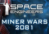 Space Engineers 2-pack + Miner Wars 2081 Steam CD Key