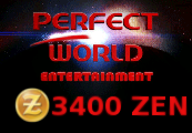 Perfect World 3400 ZEN Epin