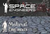 Medieval Engineers and Space Engineers Clé CD Steam