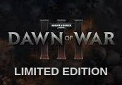 Warhammer 40,000: Dawn of War III Limited Edition Steam CD Key