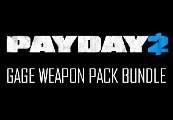 PAYDAY 2 - Gage Weapon Pack Bundle Steam CD Key