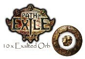 Path of Exile - 10 x Exalted Orb Item Standard League Server EU