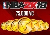 NBA 2K18 - 75,000 Virtual Currency XBOX One CD Key