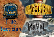 Dungeonbowl + King's Bounty: Legions True Tactician Ultimate Pack + Naval Warfare Steam CD Key