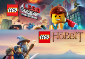 The LEGO Movie - Videogame + LEGO The Hobbit Steam CD Key
