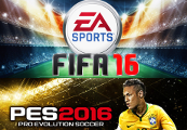 FIFA 16 + Pro Evolution Soccer 2016 Champion Bundle CD Key