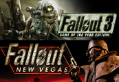 Fallout 3 GOTY + Fallout New Vegas Ultimate Edition ROW Steam CD Key