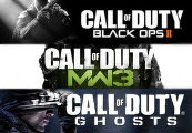 Call of Duty Ghosts + Black Ops 2 + Modern Warfare 3 - Gold CoD Bundle