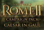 Total War: ROME II - Caesar in Gaul Campaign Pack DLC Steam CD Key