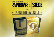 Tom Clancy's Rainbow Six Siege - 2670 Credits Pack DE PS4 CD Key