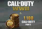 Call of Duty: WWII + 1100 CP Special Bonus EU PS4 CD Key