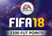 FIFA 18 - 2200 FUT Points Origin CD Key