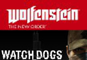 Wolfenstein DE/AT + Watch Dogs Wolfdogs Bundle