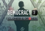 Democracy 3: Clones and Drones Steam Gift