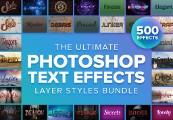 Ultimate Photoshop Layer Styles Design Bundle ShopHacker.com Code