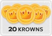 20 KRS Krowns Voucher
