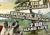 7,62 High Calibre + 7,62 Hard Life + Brigade E5: New Jagged Union Pack Steam CD Key