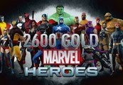 Marvel Heroes 2600 Gold Key