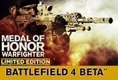Medal of Honor Warfighter EU Limited Edition Chave EA Origin