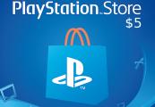 PlayStation Network Card $5 KSA