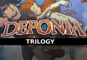 Deponia Trilogy Steam Gift