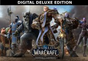 World of Warcraft: Battle for Azeroth Digital Deluxe Edition EU Battle.net CD Key