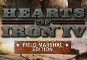 Hearts of Iron IV: Field Marshal Edition Steam CD Key