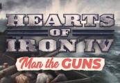 Hearts of Iron IV - Man the Guns DLC Clé Steam