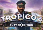 Tropico 6 El Prez Edition EU Steam CD Key