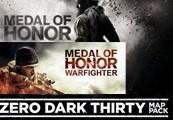 Medal of Honor + Medal of Honor: Warfighter + Medal of Honor Warfighter Zero Dark Thirty Map Pack Origin CD Key