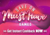 Save on Must Have Games Gift Code  - One per account!