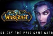 World of Warcraft 60 DAYS Pre-Paid Time Card RU