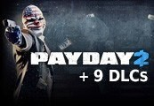 Payday 2 + 9 DLC Steam Gift
