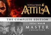 Total War Master Collection 2015 + Total War: ATTILA Steam CD Key