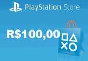 Playstation Network Card R$100,00 BR