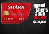 Grand Theft Auto Online - $100,000 Red Shark Cash Card PC Activation Code