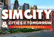 SimCity + SimCity Cities of Tomorrow Expansion Pack Origin CD Key (PC/Mac)