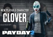 PAYDAY 2: Clover Character Pack Steam CD Key