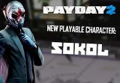 PAYDAY 2 - Sokol Character Pack Steam CD Key